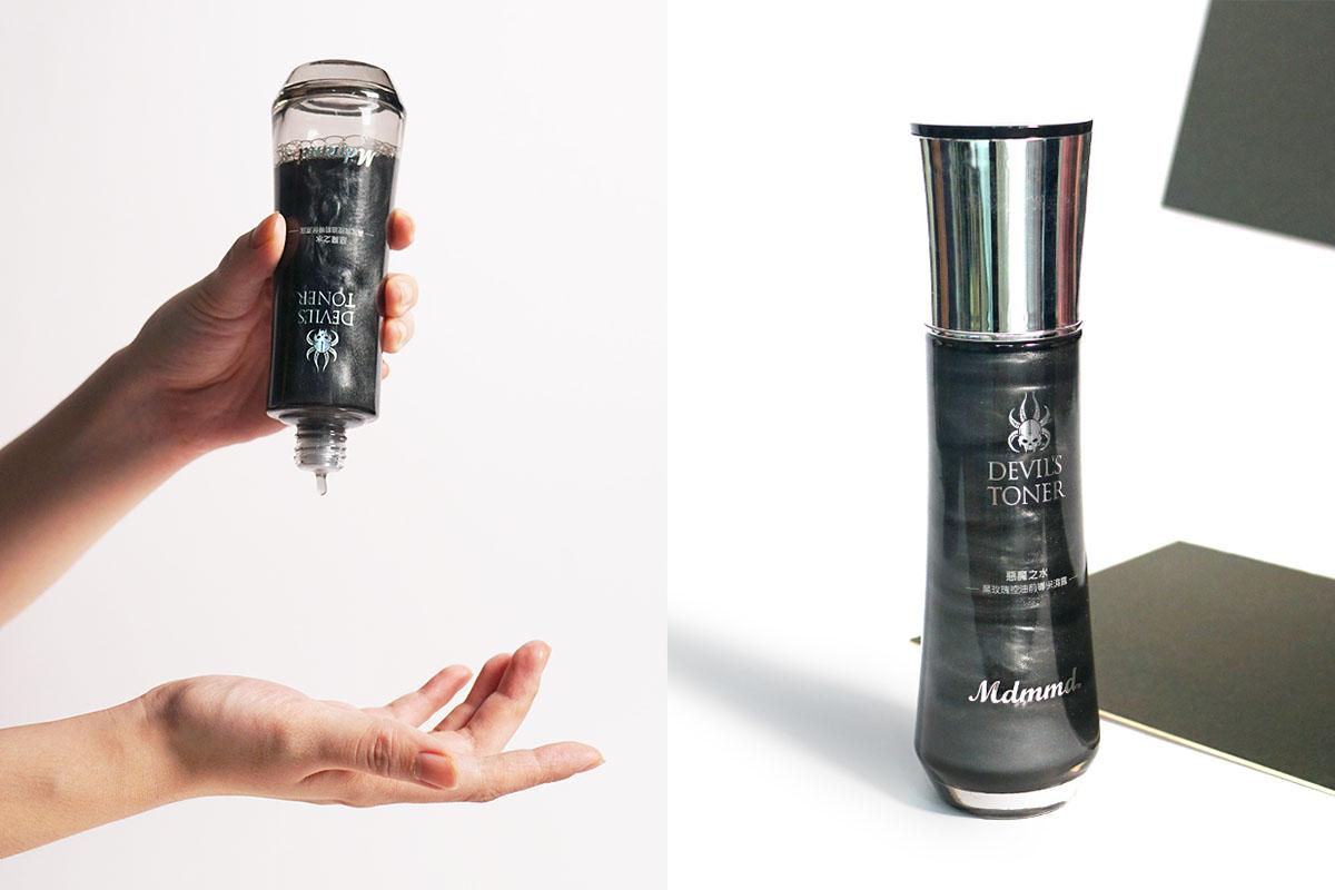 黑玫瑰化妝水、控油、竹炭化妝水