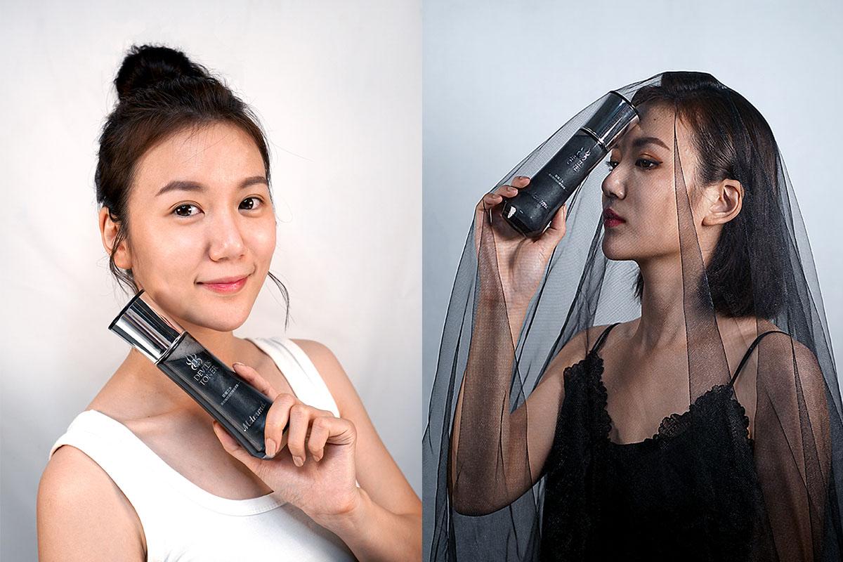 黑色化妝水、油肌保養、保濕化妝水